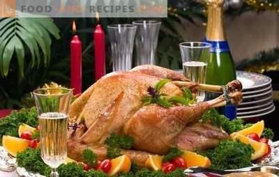 Een kalkoen kiezen voor Kerstmis, hoe je het op de juiste manier kookt