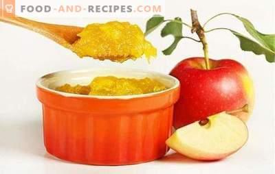 Jam van appels in een slowcooker - kook zonder te stomen! Recepten van geurige, dikke, zelfgemaakte appeltaart in een slowcooker