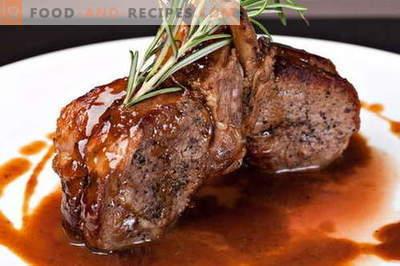 Vleessauzen zijn de beste recepten. Hoe om saus goed te maken en te koken voor vlees.
