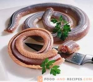 Een slang bereiden