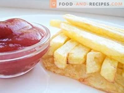 Franse frietjes thuis