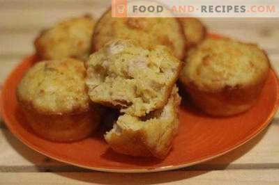 Chicken Muffins with Cheese