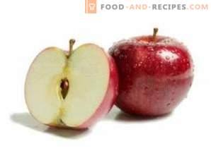 Appels reinigen van wax