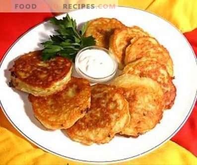 Aardappelpannenkoekjes met kaas