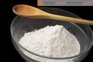 Hoe zetmeel in baksel