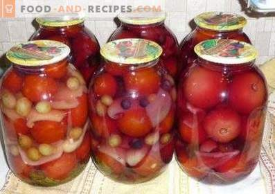 Tomaten in de winter in het Pools