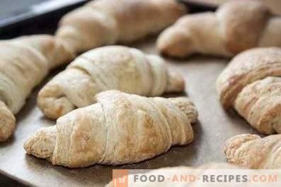 Deeg voor croissants
