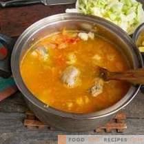 délicieuse soupe de mouton