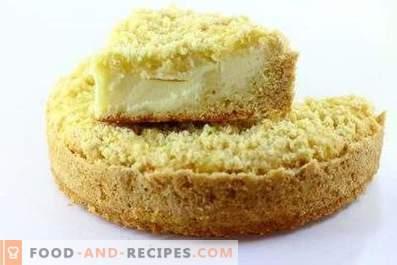 Koninklijke cheesecake met kwark