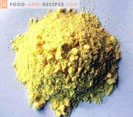 E102-kleurstof: effect op het lichaam