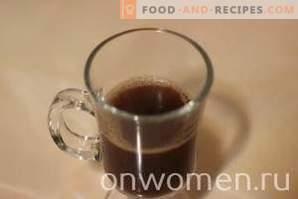 Koffie met room en caramel