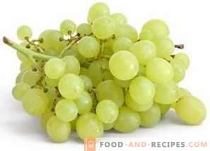Calorieën van druiven