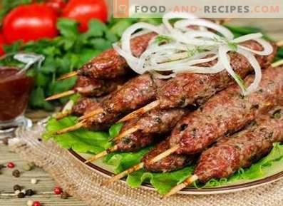 Kebab op de grill