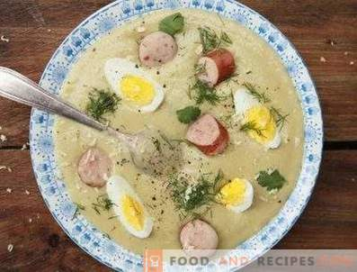 Witte borscht