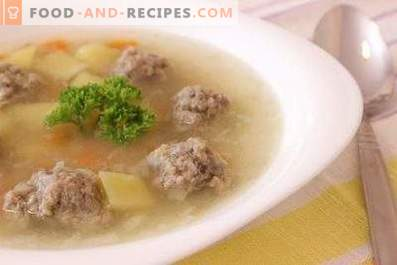 Beef Meatball Soup