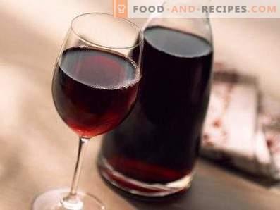 Met wat ze drinken, rode, droge wijn