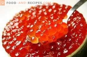How to pickle salmon caviar