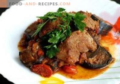 Ragoût de viande aux aubergines