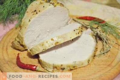 Varkensvlees gebakken in een slow cooker
