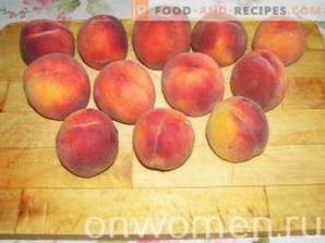 Peach Confiture met slices