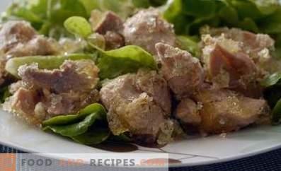 Varkensvlees gestoofd in een slow cooker