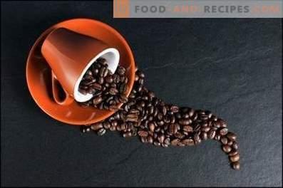 Koffie: kookrecepten