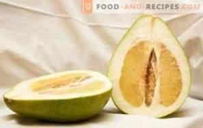 Pomelo: gezondheidsvoordelen en schade