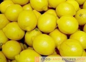 Hoe citroenen te bewaren