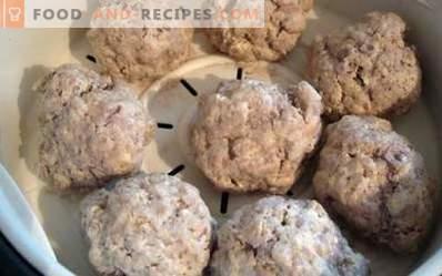 Rundvleespasteitjes voor een paar in een slow cooker