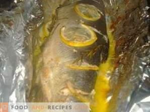 Keta gebakken in de oven