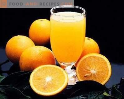 Compote van sinaasappelen voor de winter