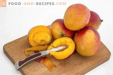 Hoe een mango te eten