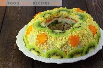 Salades voor 8 maart
