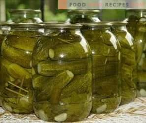 Pickles voor de winter in banken