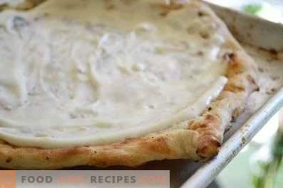 Sauce à pizza blanche