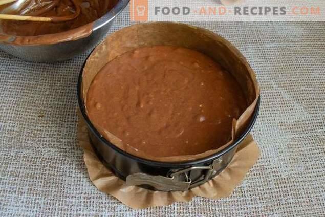 De perfecte chocoladekoekcake