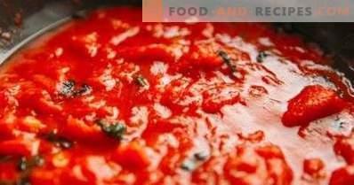Tomatensaus voor pizza