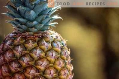 Hoe ananas te bewaren