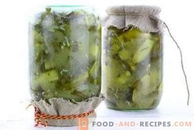Mosterkomkommers voor de winter