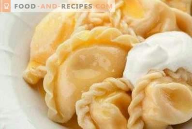 Dumplings met kaas