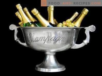 Champagne drinken